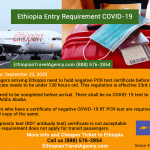 UPDATE: Ethiopia Entry Requirement in Relation to COVID-19